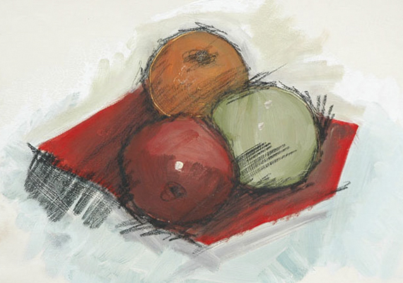 Drawing Fruit